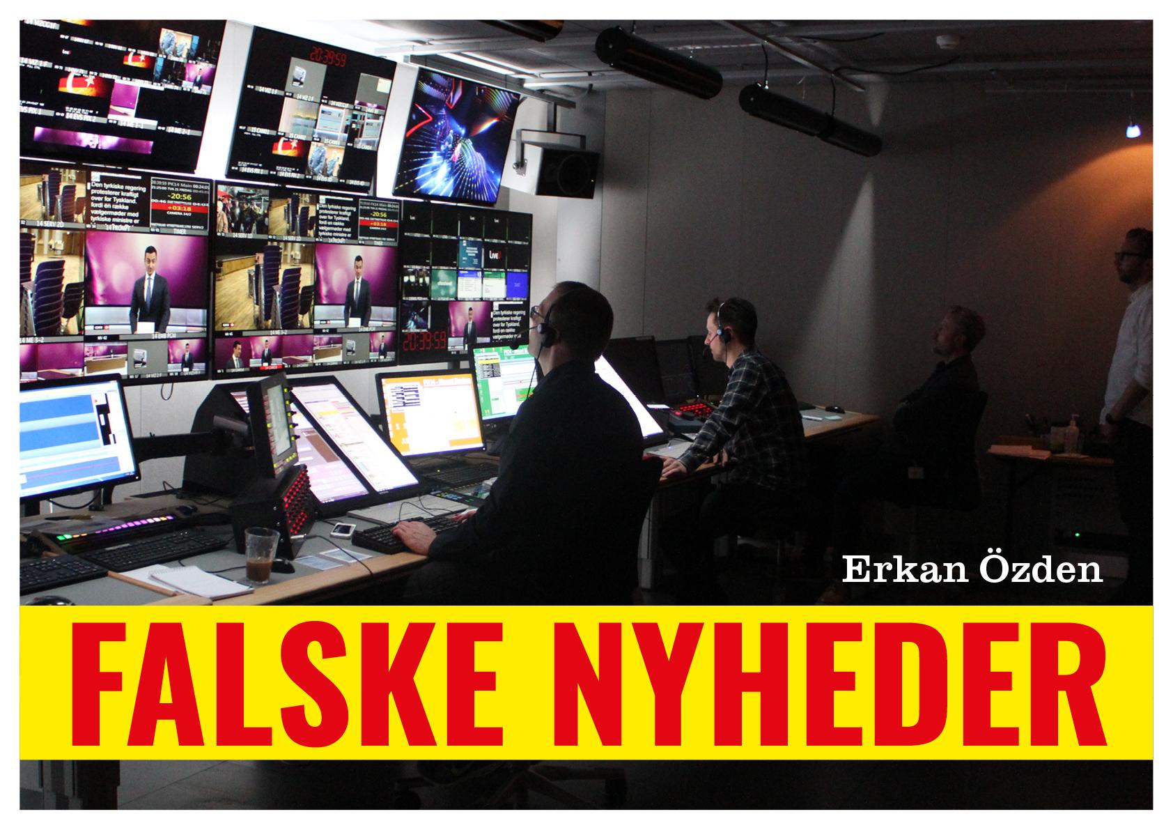 Ebog Erkan Özden Falske nyheder cover